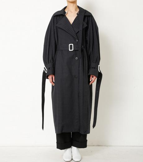 アイレネ irene like inside out trench coat 93 の通販 restir