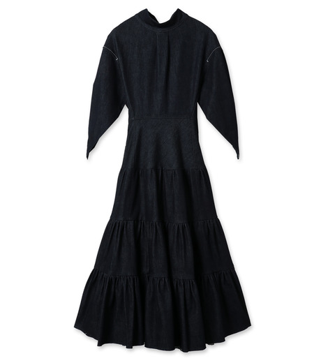 more photos 70c91 4bca2 クロエ - Chloe - Denim Tiered Dress-94 の通販 | RESTIR リステア